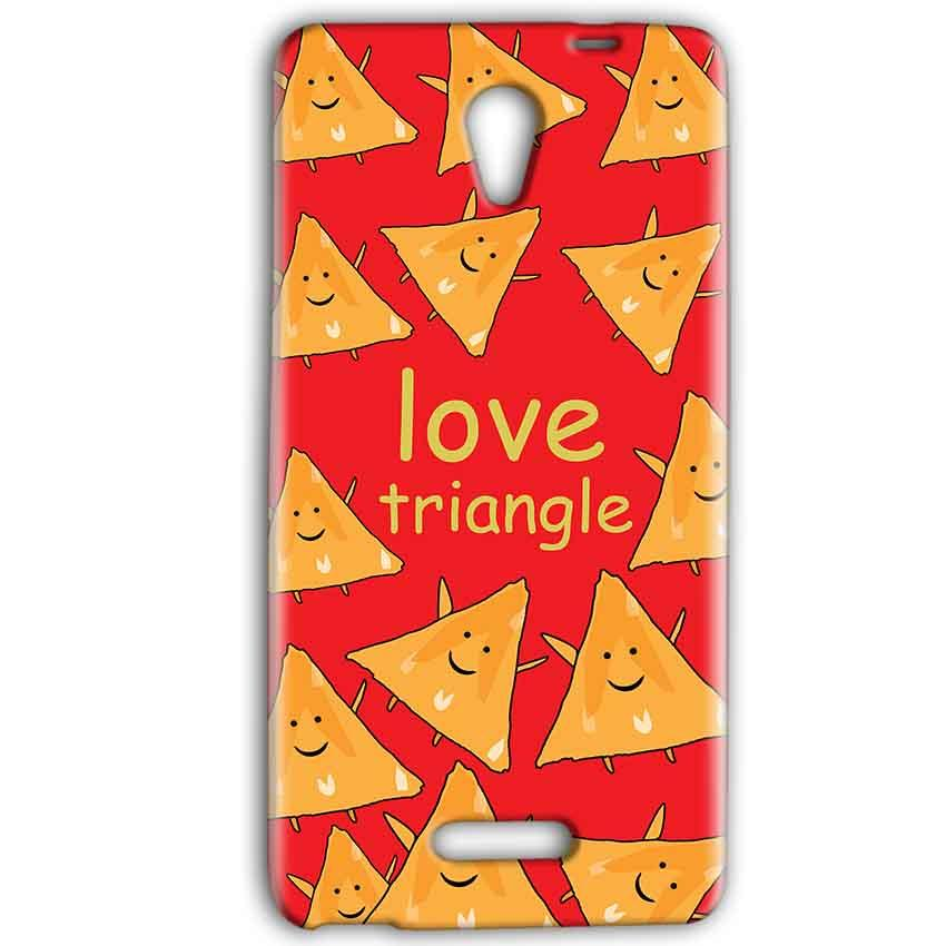 Gionee Marathon M4 Mobile Covers Cases Love Triangle - Lowest Price - Paybydaddy.com
