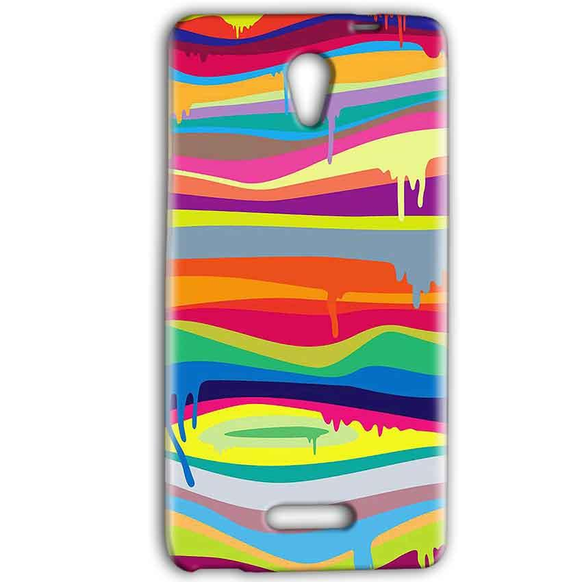 Gionee Marathon M4 Mobile Covers Cases Melted colours - Lowest Price - Paybydaddy.com