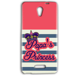 Gionee Marathon M4 Mobile Covers Cases Papas Princess - Lowest Price - Paybydaddy.com
