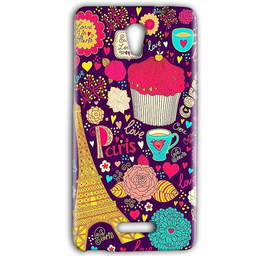 Gionee Marathon M4 Mobile Covers Cases Paris Sweet love - Lowest Price - Paybydaddy.com