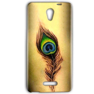 Gionee Marathon M4 Mobile Covers Cases Peacock coloured art - Lowest Price - Paybydaddy.com