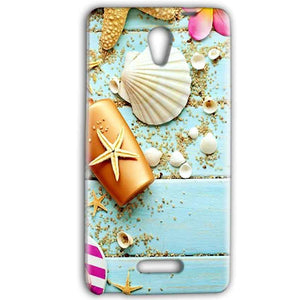 Gionee Marathon M4 Mobile Covers Cases Pearl Star Fish - Lowest Price - Paybydaddy.com