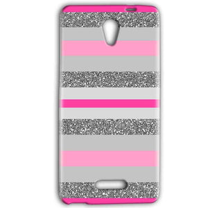 Gionee Marathon M4 Mobile Covers Cases Pink colour pattern - Lowest Price - Paybydaddy.com
