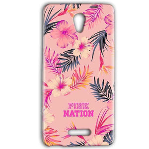 Gionee Marathon M4 Mobile Covers Cases Pink nation - Lowest Price - Paybydaddy.com