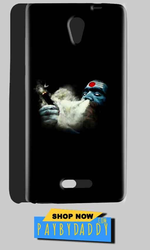 Gionee Marathon M4 Mobile Covers Cases Shiva Aghori Smoking - Lowest Price - Paybydaddy.com