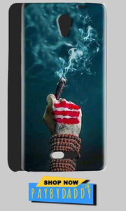 Gionee Marathon M4 Mobile Covers Cases Shiva Hand With Clilam - Lowest Price - Paybydaddy.com