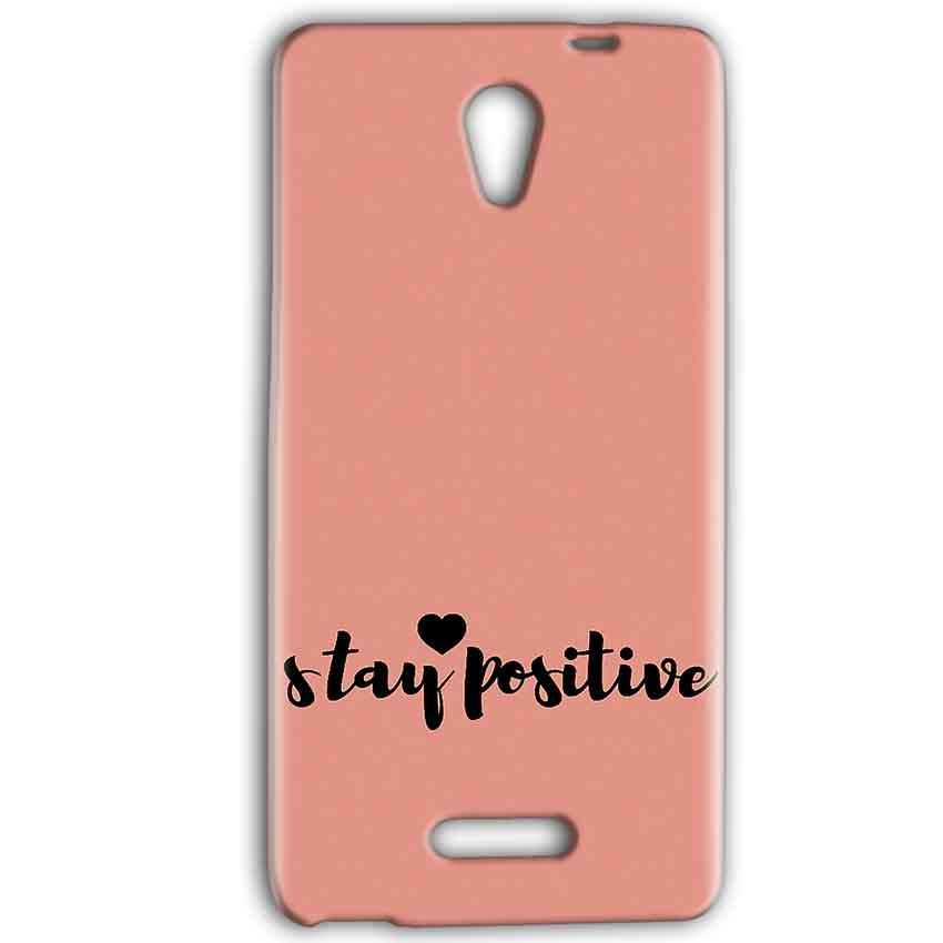 Gionee Marathon M4 Mobile Covers Cases Stay Positive - Lowest Price - Paybydaddy.com