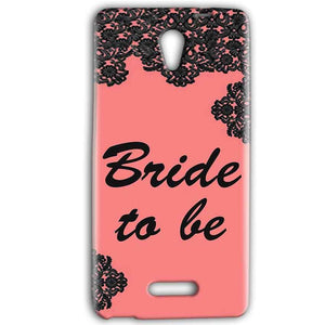 Gionee Marathon M4 Mobile Covers Cases Mobile Covers Cases bride to be with ring Black Pink - Lowest Price - Paybydaddy.com