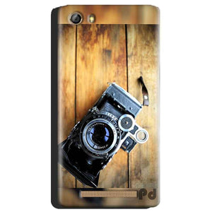 Gionee Marathon M5 Mobile Covers Cases Camera With Wood - Lowest Price - Paybydaddy.com