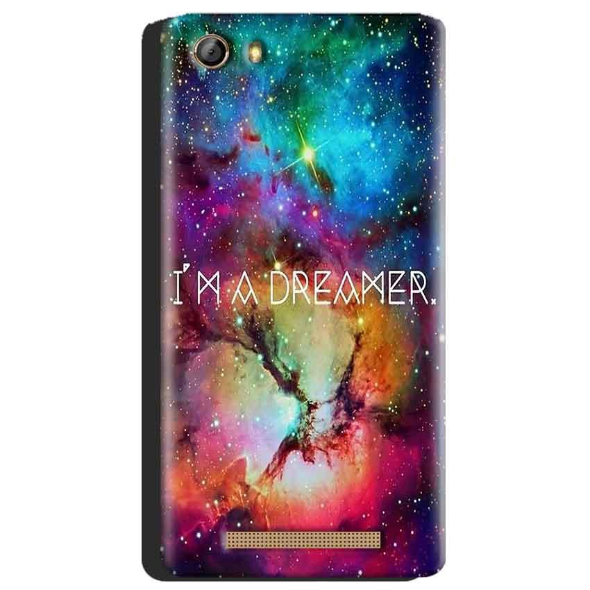 Gionee Marathon M5 Mobile Covers Cases I am Dreamer - Lowest Price - Paybydaddy.com