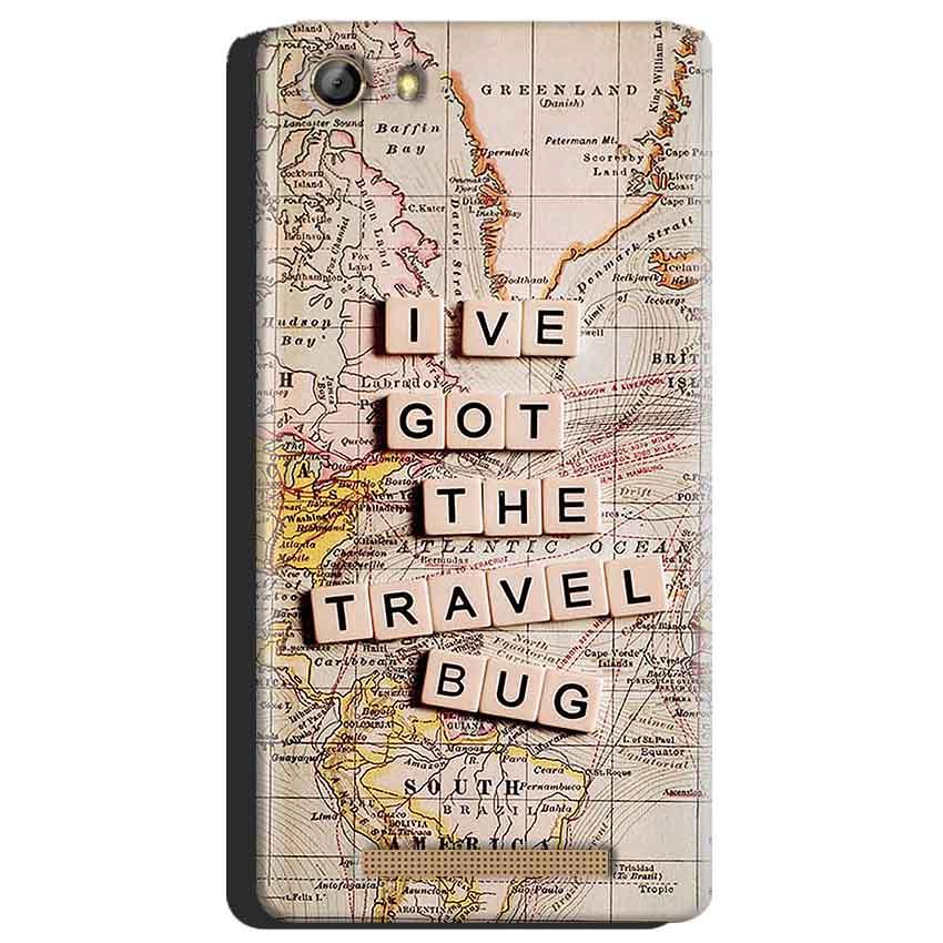 Gionee Marathon M5 Mobile Covers Cases Live Travel Bug - Lowest Price - Paybydaddy.com