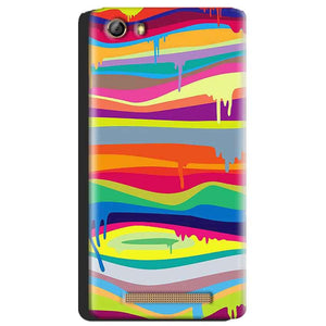 Gionee Marathon M5 Mobile Covers Cases Melted colours - Lowest Price - Paybydaddy.com