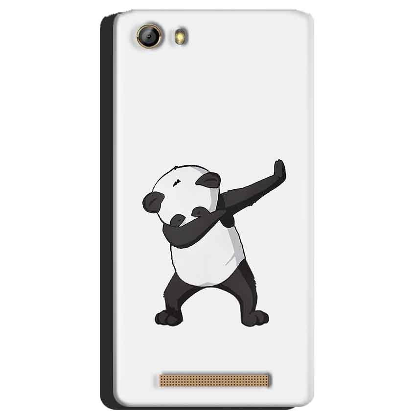 Gionee Marathon M5 Mobile Covers Cases Panda Dab - Lowest Price - Paybydaddy.com