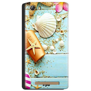 Gionee Marathon M5 Mobile Covers Cases Pearl Star Fish - Lowest Price - Paybydaddy.com
