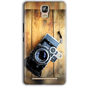 Gionee Marathon M5 Plus Mobile Covers Cases Camera With Wood - Lowest Price - Paybydaddy.com