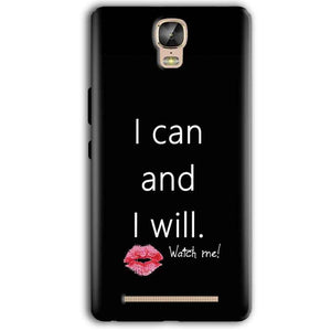 Gionee Marathon M5 Plus Mobile Covers Cases i can and i will Lips - Lowest Price - Paybydaddy.com