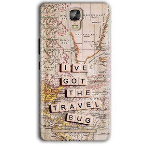 Gionee Marathon M5 Plus Mobile Covers Cases Live Travel Bug - Lowest Price - Paybydaddy.com