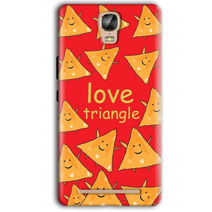 Gionee Marathon M5 Plus Mobile Covers Cases Love Triangle - Lowest Price - Paybydaddy.com