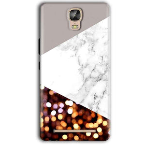 Gionee Marathon M5 Plus Mobile Covers Cases MARBEL GLITTER - Lowest Price - Paybydaddy.com