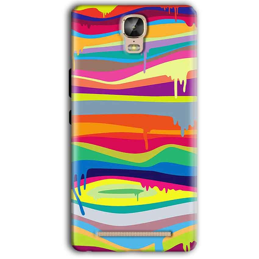 Gionee Marathon M5 Plus Mobile Covers Cases Melted colours - Lowest Price - Paybydaddy.com