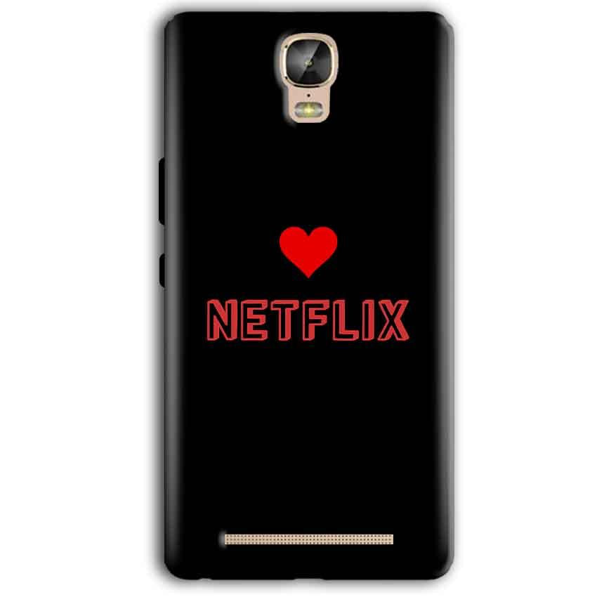 Gionee Marathon M5 Plus Mobile Covers Cases NETFLIX WITH HEART - Lowest Price - Paybydaddy.com