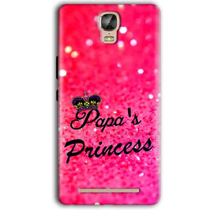 Gionee Marathon M5 Plus Mobile Covers Cases PAPA PRINCESS - Lowest Price - Paybydaddy.com