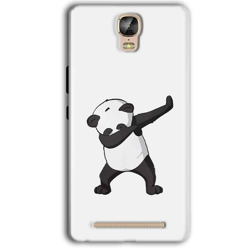 Gionee Marathon M5 Plus Mobile Covers Cases Panda Dab - Lowest Price - Paybydaddy.com