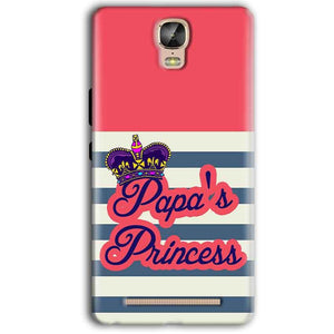 Gionee Marathon M5 Plus Mobile Covers Cases Papas Princess - Lowest Price - Paybydaddy.com
