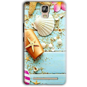 Gionee Marathon M5 Plus Mobile Covers Cases Pearl Star Fish - Lowest Price - Paybydaddy.com