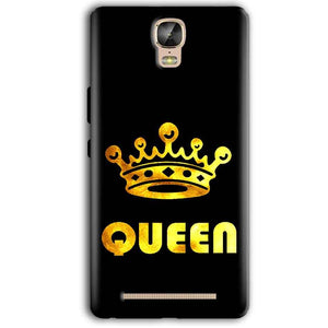 Gionee Marathon M5 Plus Mobile Covers Cases Queen With Crown in gold - Lowest Price - Paybydaddy.com