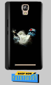 Gionee Marathon M5 Plus Mobile Covers Cases Shiva Aghori Smoking - Lowest Price - Paybydaddy.com