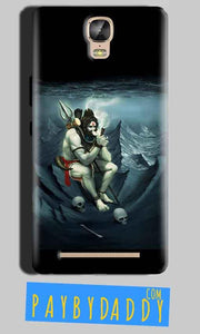 Gionee Marathon M5 Plus Mobile Covers Cases Shiva Smoking - Lowest Price - Paybydaddy.com