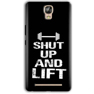 Gionee Marathon M5 Plus Mobile Covers Cases Shut Up And Lift - Lowest Price - Paybydaddy.com