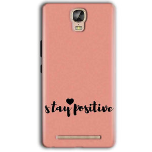 Gionee Marathon M5 Plus Mobile Covers Cases Stay Positive - Lowest Price - Paybydaddy.com