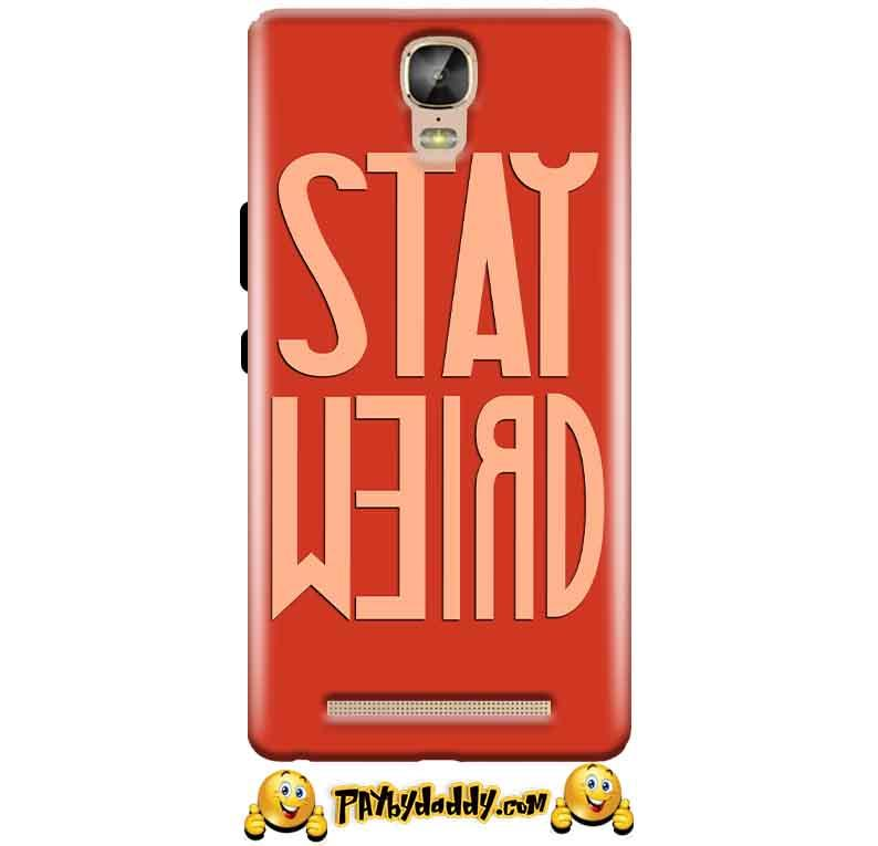 Gionee Marathon M5 Plus Mobile Covers Cases Stay Weird - Lowest Price - Paybydaddy.com