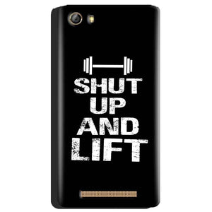 Gionee Marathon M5 Mobile Covers Cases Shut Up And Lift - Lowest Price - Paybydaddy.com