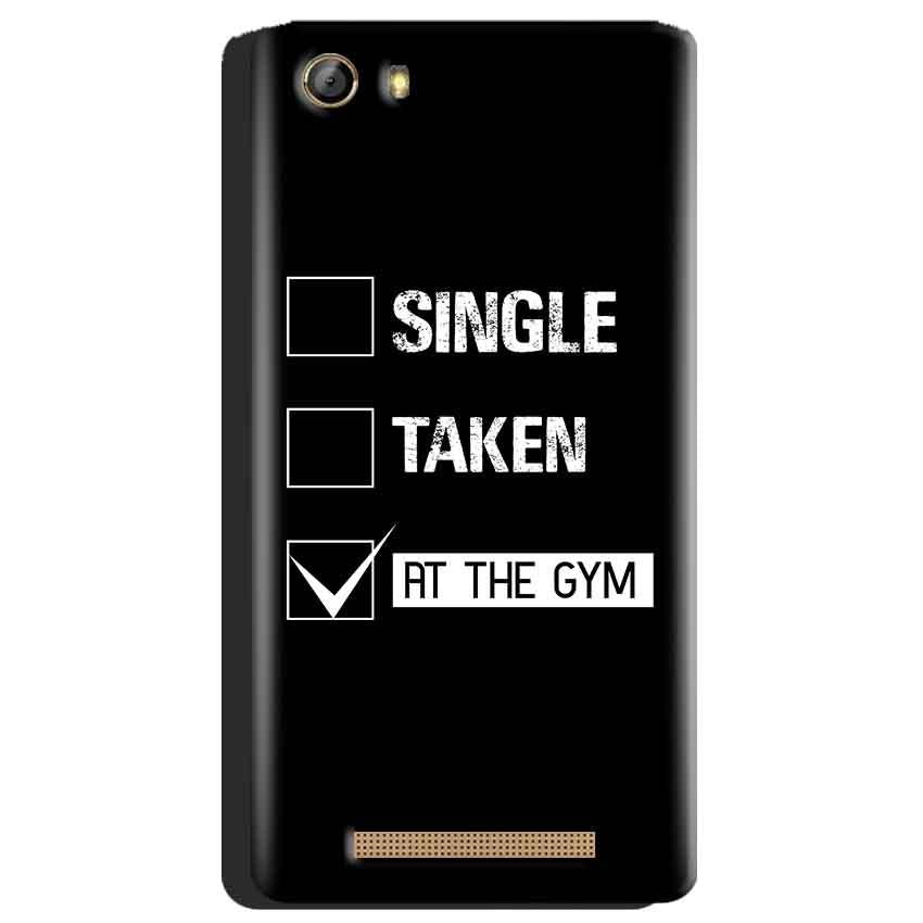 Gionee Marathon M5 Mobile Covers Cases Single Taken At The Gym - Lowest Price - Paybydaddy.com