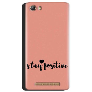 Gionee Marathon M5 Mobile Covers Cases Stay Positive - Lowest Price - Paybydaddy.com