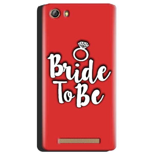 Gionee Marathon M5 Mobile Covers Cases bride to be with ring - Lowest Price - Paybydaddy.com