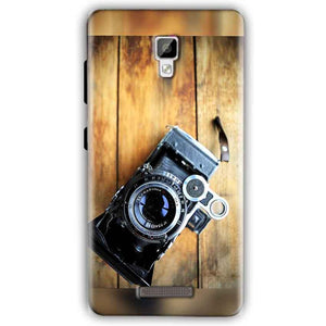 Gionee P7 Mobile Covers Cases Camera With Wood - Lowest Price - Paybydaddy.com