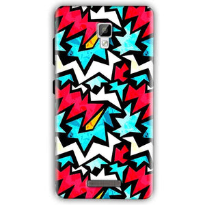 Gionee P7 Mobile Covers Cases Colored Design Pattern - Lowest Price - Paybydaddy.com