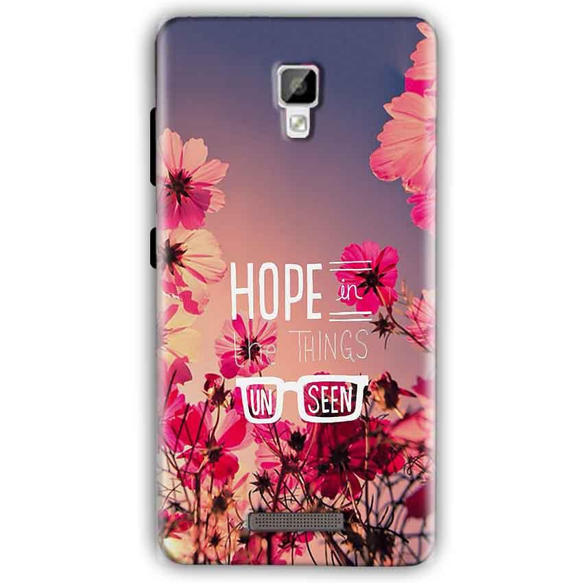 Gionee P7 Mobile Covers Cases Hope in the Things Unseen- Lowest Price - Paybydaddy.com