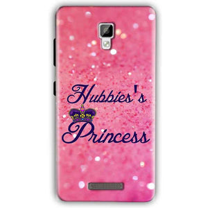 Gionee P7 Mobile Covers Cases Hubbies Princess - Lowest Price - Paybydaddy.com