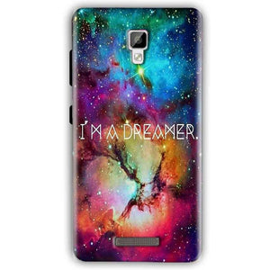 Gionee P7 Mobile Covers Cases I am Dreamer - Lowest Price - Paybydaddy.com