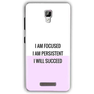 Gionee P7 Mobile Covers Cases I am Focused - Lowest Price - Paybydaddy.com