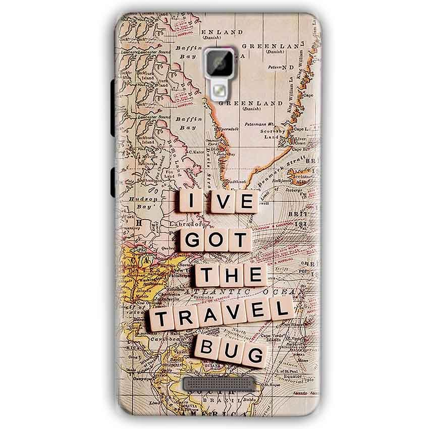 Gionee P7 Mobile Covers Cases Live Travel Bug - Lowest Price - Paybydaddy.com