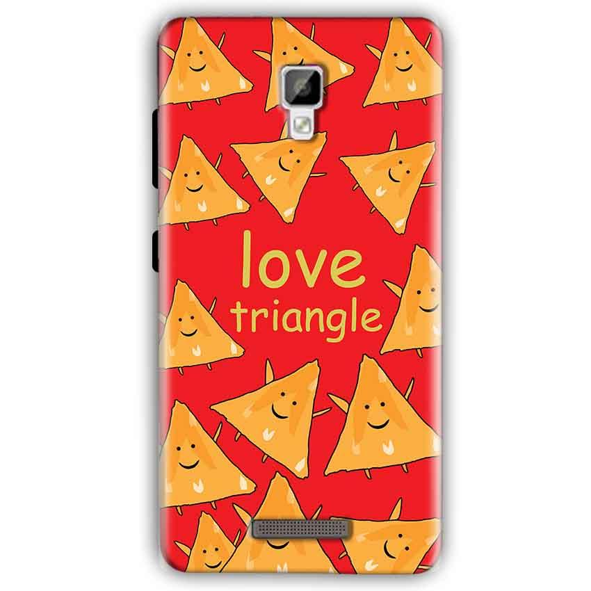 Gionee P7 Mobile Covers Cases Love Triangle - Lowest Price - Paybydaddy.com