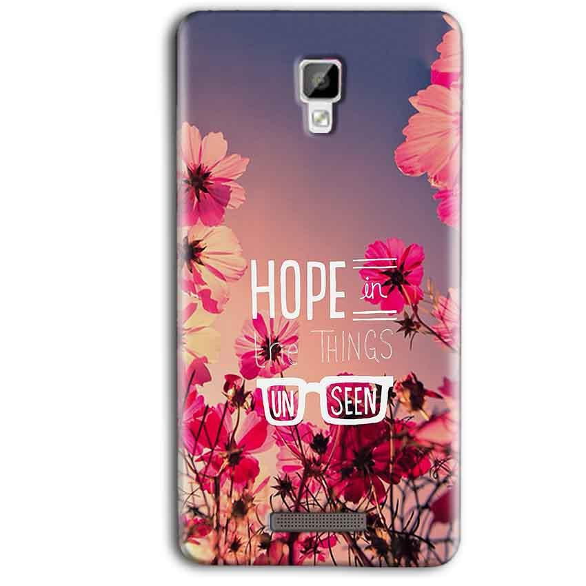 Gionee P7 Max Mobile Covers Cases Hope in the Things Unseen- Lowest Price - Paybydaddy.com