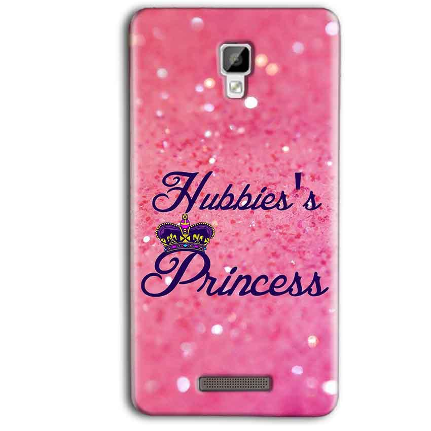 Gionee P7 Max Mobile Covers Cases Hubbies Princess - Lowest Price - Paybydaddy.com