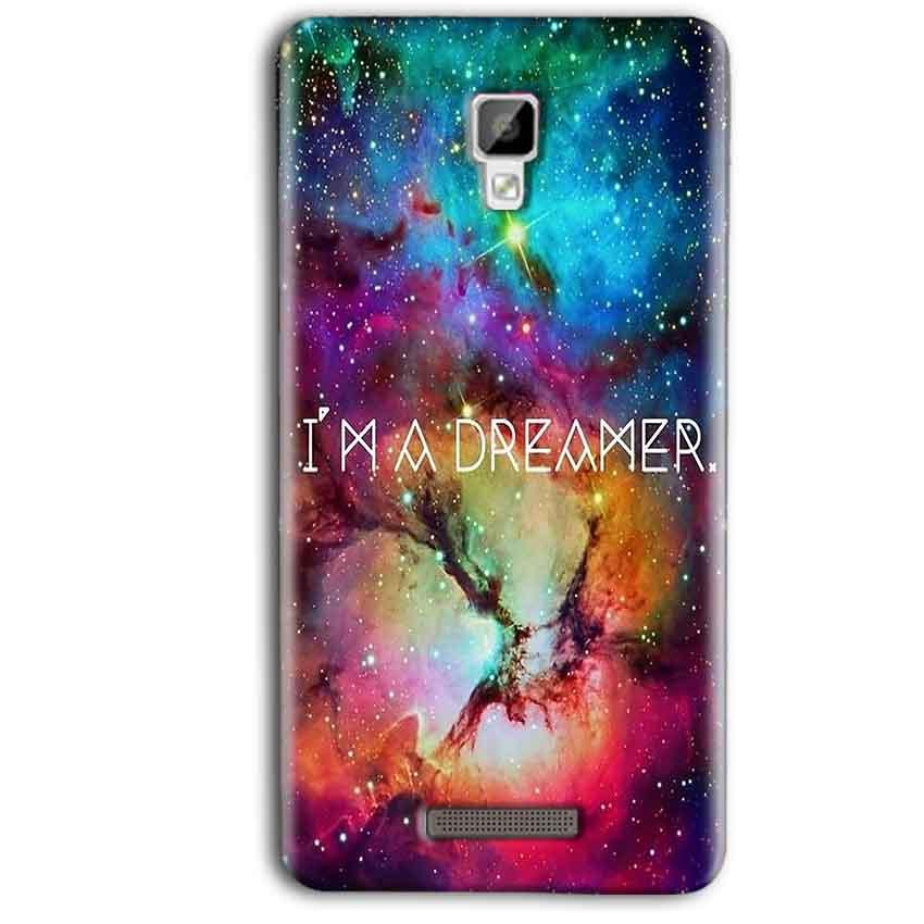 Gionee P7 Max Mobile Covers Cases I am Dreamer - Lowest Price - Paybydaddy.com